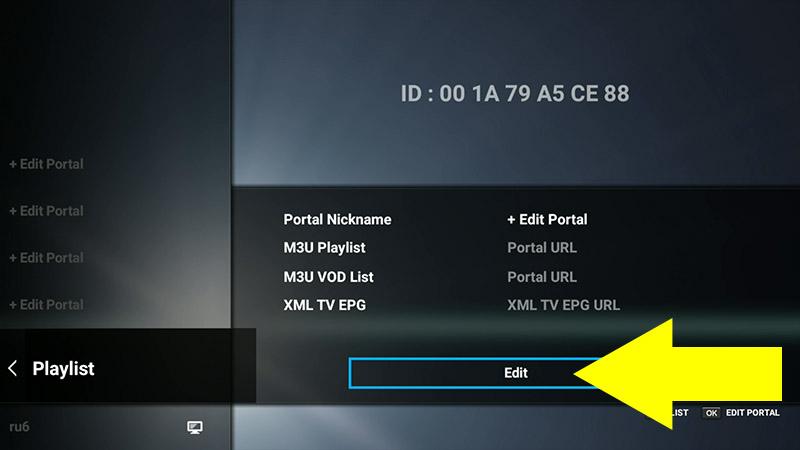 MyTVOnline: Загрузка плейлиста M3U [OPENBOX A6 | A6 PRO] - TV 4K